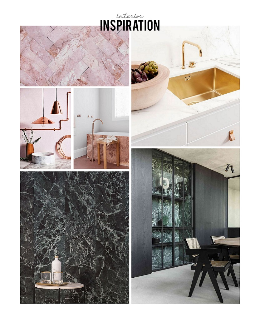 marmer in interieur inspiratie