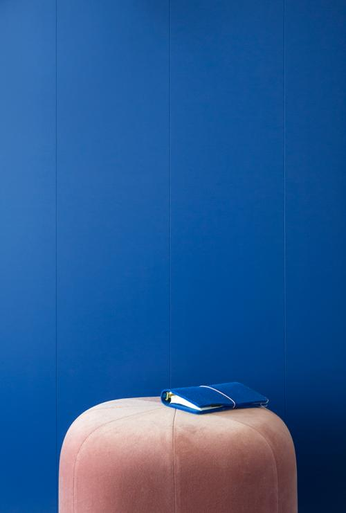 Wall Electric Blue