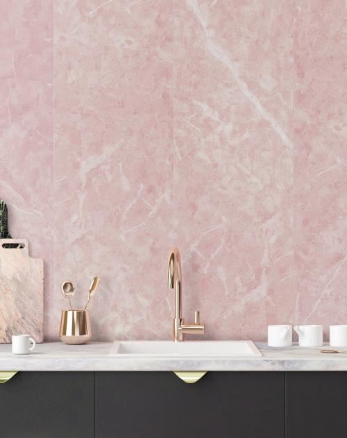 Wand Pink Marble